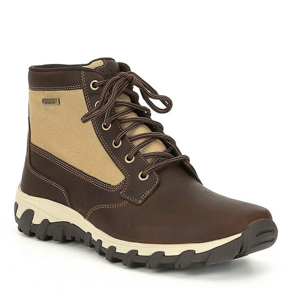 Men Waterproof Hydroshield Boots Brown